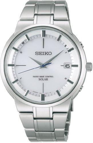 [セイコー]SEIKO 腕時計 SPIRIT スピリット チタン ソーラー電波修正 サファイアガラス 日常生活用強化防水 (10気圧) 耐メタルアレルギー SBTM203 メンズ