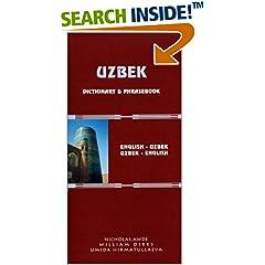 Uzbek Dictionary and Phrasebook: Uzbek-English English-Uzbek