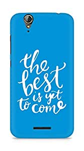 AMEZ the best is yet to come Back Cover For Acer Z630S