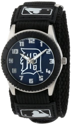 "Game Time Unisex MLB-ROB-DET ""Rookie Black"" Watch - Detroit Tigers"