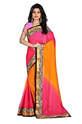 Gokul Vastra Saree (Pack of 7) (P-KT-3076_7_Orange Pink)
