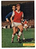 CHARLES Buchan Arsenal GEOFF STRONG Leyton Orient SID BISHOP football picture
