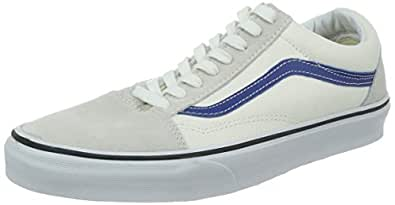 Vans Old Skool Shoes UK 4 White True Blue