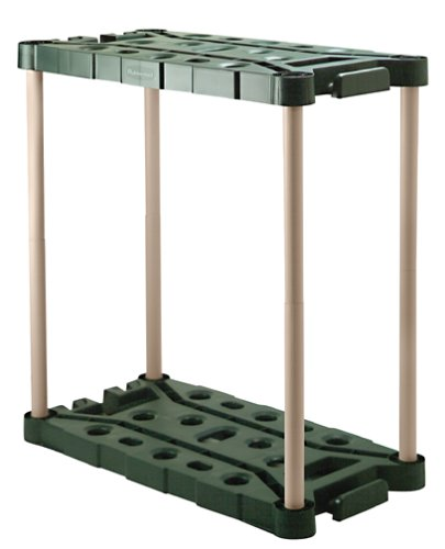 Rubbermaid 7092 Long-Handle Tool Storage Unit (Garage Organizer Rubbermaid compare prices)