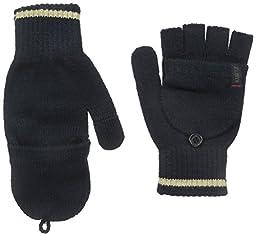 A. Kurtz Men\'s Deck Stripe Glove, Navy, One Size