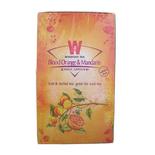 Wissotzky tea ブラッドオレンジ&マンダリン
