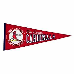 St. Louis Cardinals MLB Cooperstown Pennant  by Winning Streak