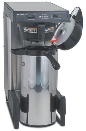 BUNN-O-Matic 39900.0006 WAVE15-APS SmartWave Low Profile Wide Base Coffee Brewer, 120 V, Each