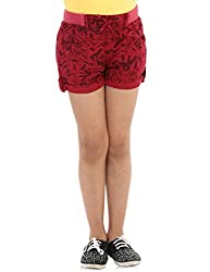 Oxolloxo Girls red shorts