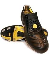 Nike Total90 Laser II K-FG Black/Yellow Mens Soccer Cleats 318814-007