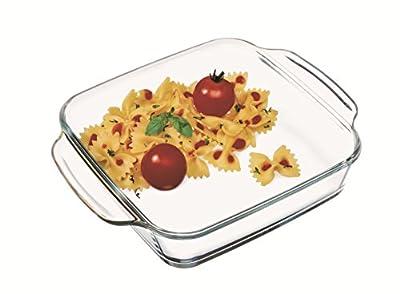 Simax Glassware 7246 4.5-Quart Square Roaster Pan, Large