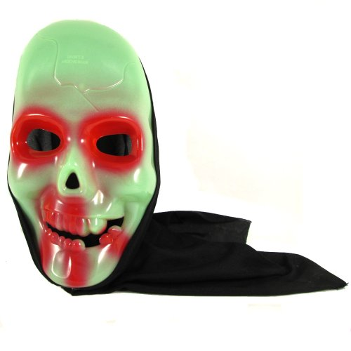 Howling Ghost Bleeding Scary Hooded Mask Halloween Party Mask