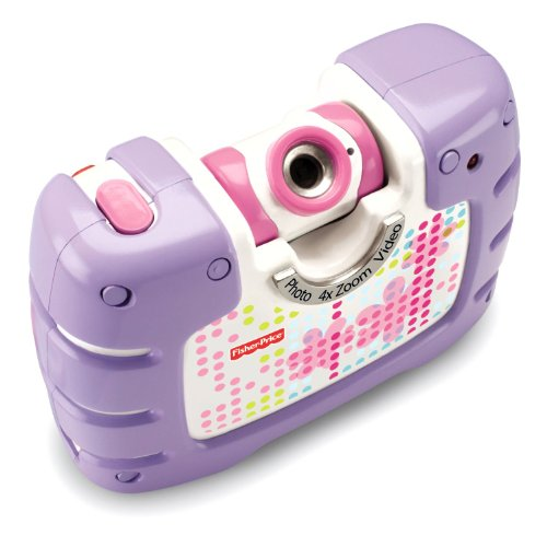Fisher-Price Kid-Tough See Yourself Camera - Purple