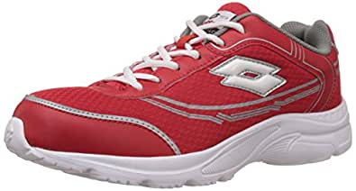 Lotto Men's Tremor Red and White Running Shoes - 10 UK/India (44 EU)