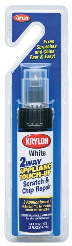 Krylon 7700 1/2-Ounce Appliance Touch Up Paint Tubes, White