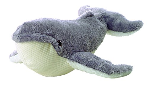 "Ahab Gray Whale Mini Flopsie 8"" by Aurora"