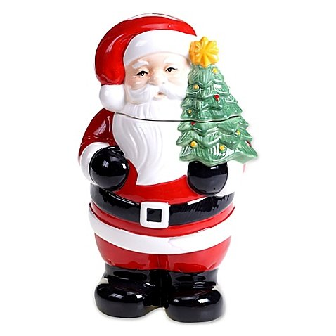 Certified International Retro Christmas 3D Santa Cookie Jar (G250 Foodsaver compare prices)
