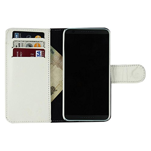 D.rD Geniune Leather Mobile Flip Cover With Card Holder HTC Desire 620