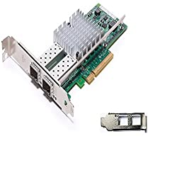 Intel E10G42BTDA NetworkCard Ethernet Server Adapter X520-DA2