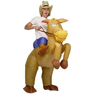 Esecure - Aufblasbares Cowboy-rodeokostm Karnevalskostm bei aufblasbar.de