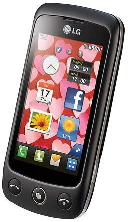 LG GS500 Cookie Plus Unlocked Quad-Band Cell Phone with 3 MP Camera, Touchscreen, Bluetooth, MicroSD Memory Card Slot - International Version - Black
