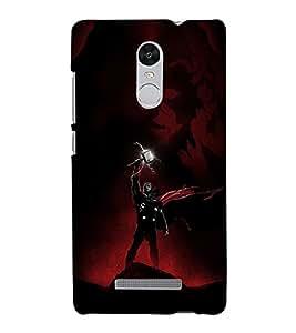 Brave Warrior In Battle Field 3D Hard Polycarbonate Designer Back Case Cover for Xiaomi Redmi Note 3 :: Xiaomi Redmi Note 3 (3rd Gen)