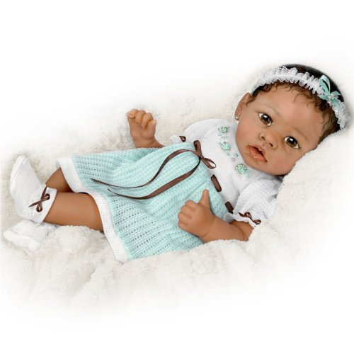 Alicia`s Gentle Touch Realistic Interactive Baby Doll by Ashton Drake