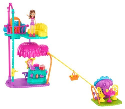 Polly Pocket Wall Party Cafe Playset by Mattel TOY (English Manual)