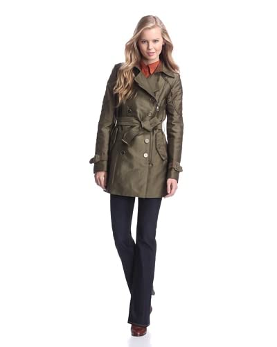Sam Edelman Women's Keegan Zip-Up Trench