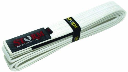 Storm Kimonos STORM Deluxe Belt, A1, White