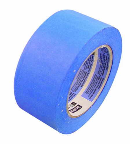 3M 06820 Scotch Blue Masking Tape, 2-Inch by 180-Feet