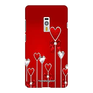 HomeSoGood Valentines Day Love Red 3D Mobile Case For OnePlus 2 (Back Cover)