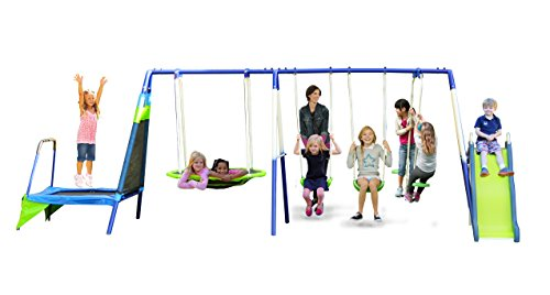 Why Should You Buy Sportspower Mountain View Metal Swing Set