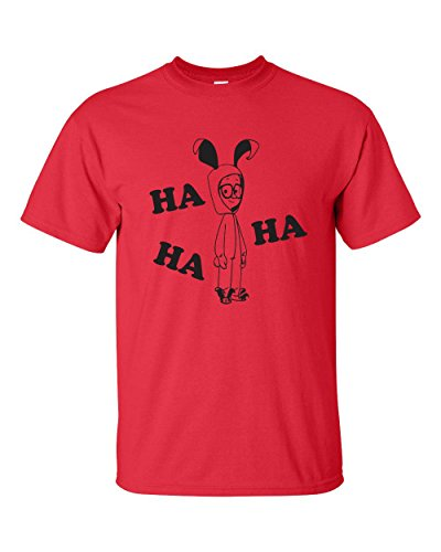 Jacted Up Tees Ha Ha Bunny Costume A Christmas Story Men's T-Shirt