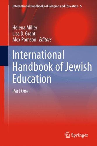 International Handbook of Jewish Education (International Handbooks of Religion and Education)
