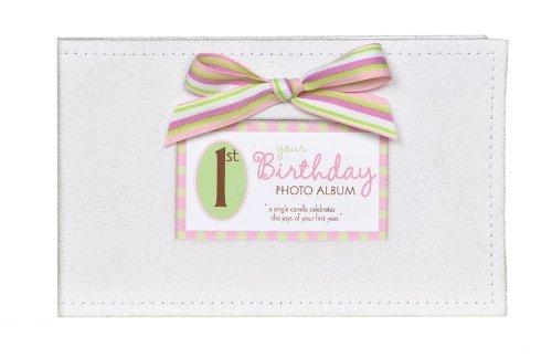 Baby's First Birthday Photo Album - 1st Birthday Girl Brag Book - 1