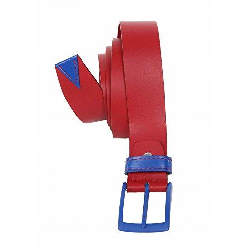 Cintura Maxfort Tesena taglie extra lunghe uomo - Rosso, 145 CM