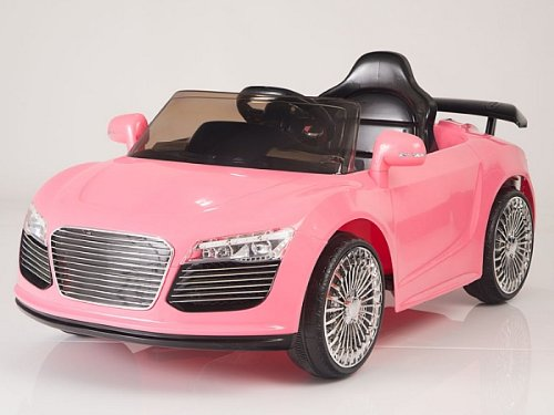 RIDE ON TOY CAR AUDI STYLE R-8 NEW MODEL 12V BATTERY REMOTE CONTROL POWER WHEEL