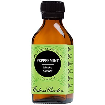 Peppermint 100% Pure Therapeutic Grade Essential Oil by Edens Garden- 100 ml