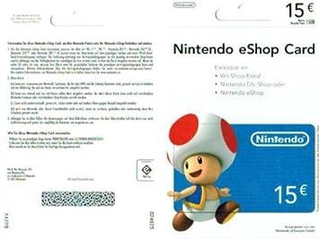 Nintendo Eshop Karte Code.Nintendo Eshop Card 15 00 Nintendo Eshop Card 15 Rabatt