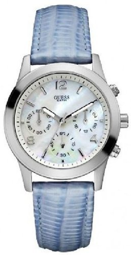 GUESS Leather Chronograph Ladies Watch W11148L2