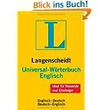 Langenscheidt Universal-Wörterbuch Englisch: Englisch-Deutsch/Deu... (Langenscheidt Universal-Wörterbüch...