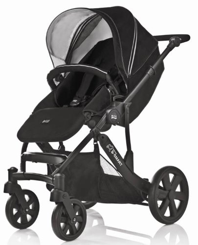 Britax B-Smart 4 Versatile Pushchair (Black Thunder)