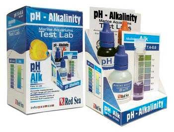 New Hight Quality Saltater Labs Ph/Alkalin Mini Lab (100ph/60alk Tests)
