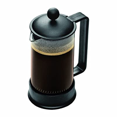 Bodum Brazil 3 cup French Press Coffee Maker, 12 oz, Black by Bodum