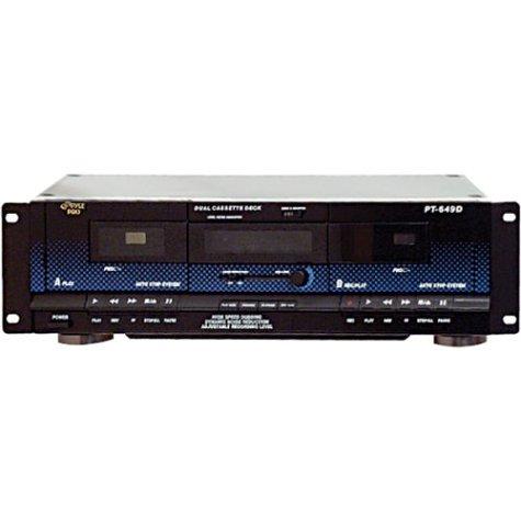 Sale!! Pyle Home PT649D Dual Cassette Deck