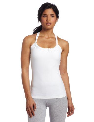 prAna Women's Quinn Chakara Top (White, Large)