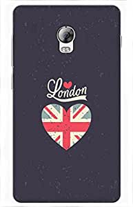 iessential london Printed Case for Lenovo Vibe P1