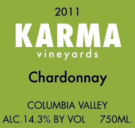 2011 Karma Vineyards Chardonnay 750 Ml