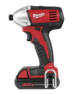 Milwaukee 2650-21 18-volt Compact Impact Driver Kit by Milwaukee